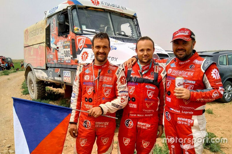 #507 Alex Loprais, Ferran Marco Alcayna, Instaforex Loprais