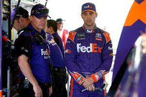 Denny Hamlin, Joe Gibbs Racing, Toyota Camry FedEx Ground Michael Wheeler