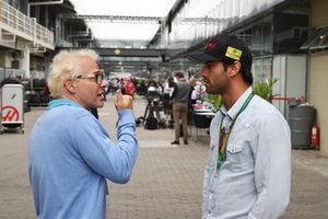 Felipe Nasr and Jacques Villeneuve, Sky Italia