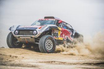 #308 X-Raid Mini JCW Team: Cyril Despres, Jean Paul Cottret