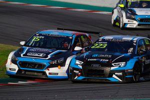 Peter Terting, Autodis Racing by Piro Sports Hyundai i30 N TCR, Nathanaël Berthon, Comtoyou Racing Audi RS3 LMS TCR