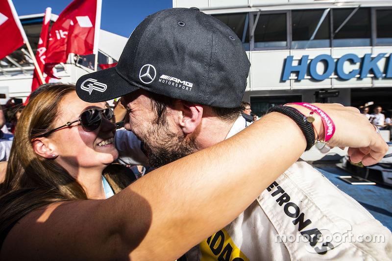 Champion Gary Paffett, Mercedes-AMG Team HWA