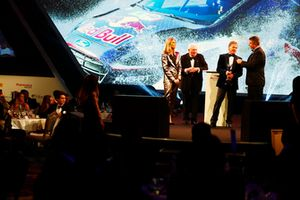 Malcolm Wilson is presented with the Rally Car of the Year award
