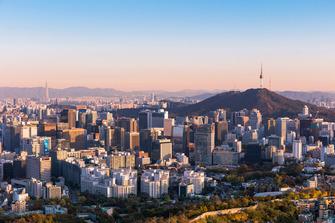 Vista de la Ciudad de Seoul