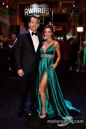 Kyle Busch, Joe Gibbs Racing y su esposa Samantha Busch