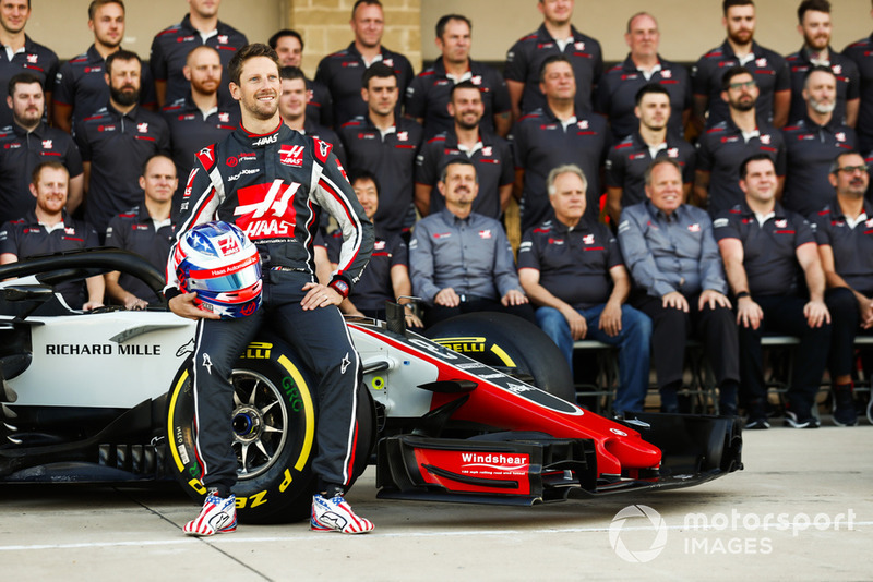 Romain Grosjean, Haas F1 Team, and the Haas F1 team