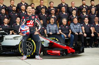 Romain Grosjean, Haas F1 Team, en het Haas F1 team