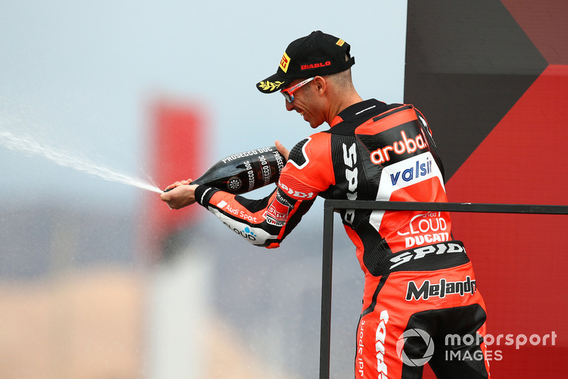2e : Marco Melandri (Aruba.it Racing-Ducati SBK Team)