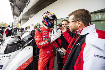 Andreas Seidl, Porsche Team takım şefi, Mark Webber, Porsche Team
