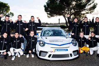 I partecipanti al Porsche Shoot Out 2018