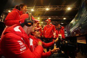 Ferrari Programme GT: Sam Bird, Davide Rigon, Giancarlo Fisichella and Andrea Bertolini