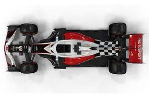 Impressie F1-wagen 2019