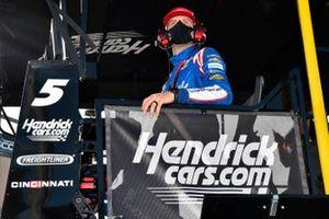 Cliff Daniels, Kyle Larson, Hendrick Motorsports, Chevrolet Camaro HendrickCars.com Throwback