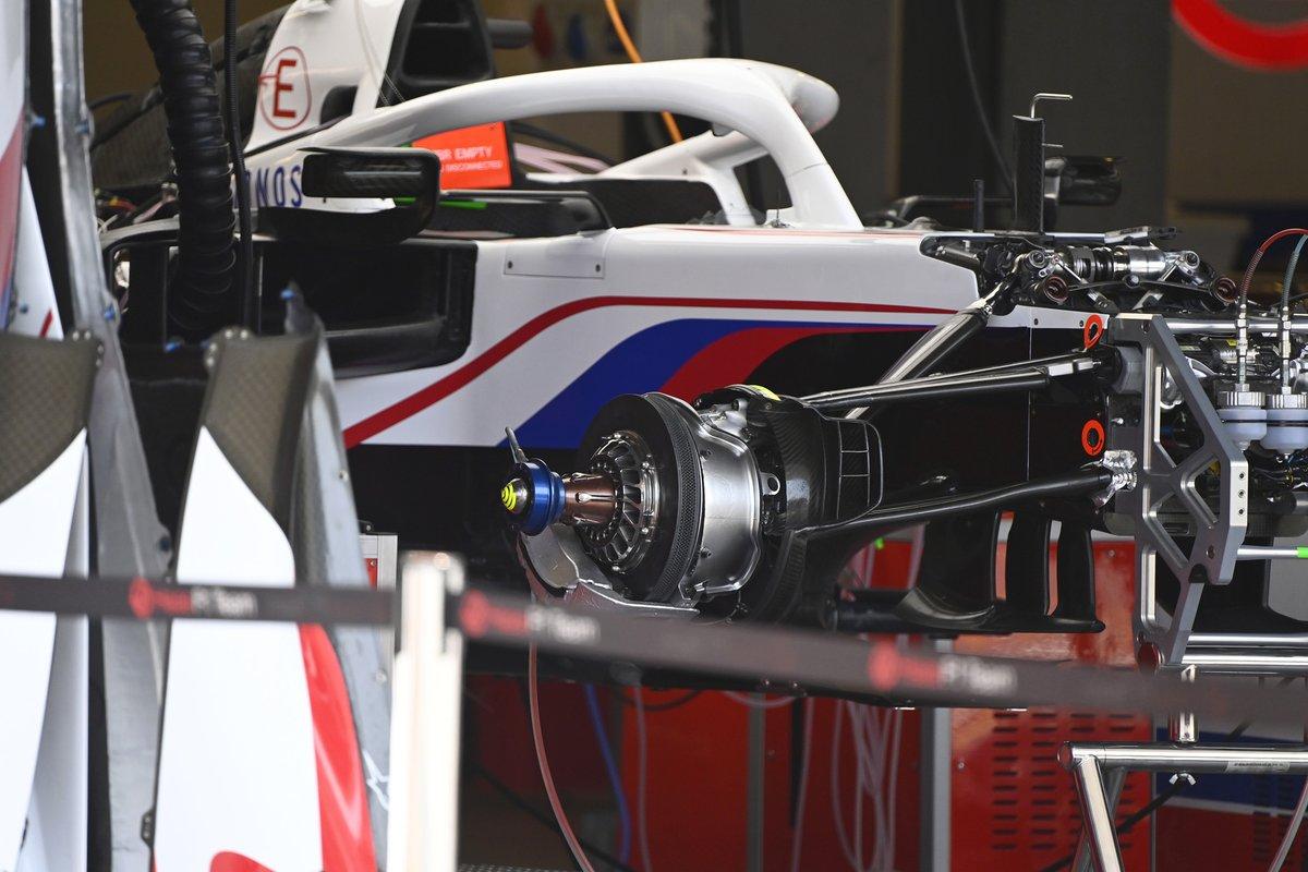 Detalle del Haas VF-21