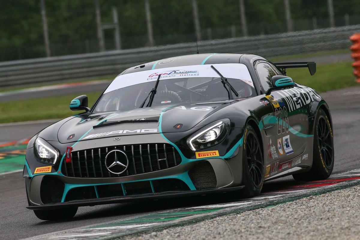 #228 Nova Race, Mercedes-AMG GT4: Fulvio Ferri, Andrea Gagliardini