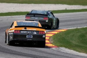 Kevin Harvick, B.J. McLeod Motorsports, Ford Mustang Henry Repeating Arms, Riley Herbst, Stewart-Haas Racing, Ford Mustang Monster Energy