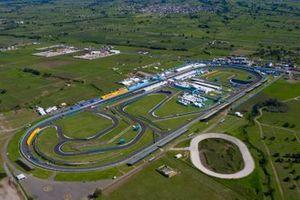 Una vista aerea del Autodromo Miguel E. Abed, Puebla, Mexico