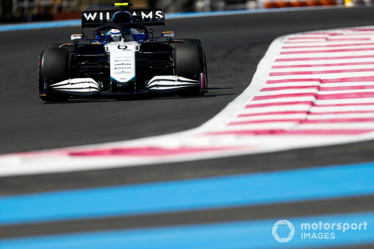 Nicholas Latifi, Williams: 5 puan