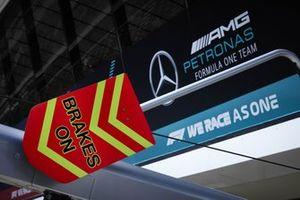 Garage of Mercedes