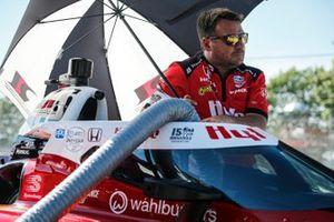 Membre de l'équipe de Santino Ferrucci, Rahal Letterman Lanigan Racing Honda
