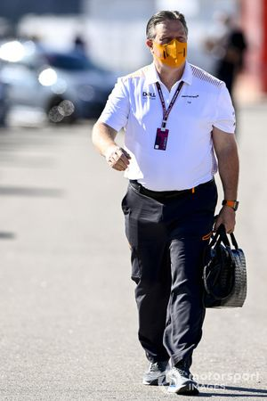 Zak Brown, CEO de McLaren Racing