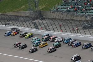 Renn-Action auf dem Kansas Speedway in Kansas City