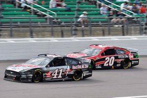 Cole Custer, Stewart-Haas Racing, Ford Mustang HaasTooling.com, Christopher Bell, Joe Gibbs Racing, Toyota Camry Rheem