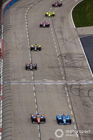 Scott Dixon, Chip Ganassi Racing Honda, Alex Palou, Chip Ganassi Racing Honda