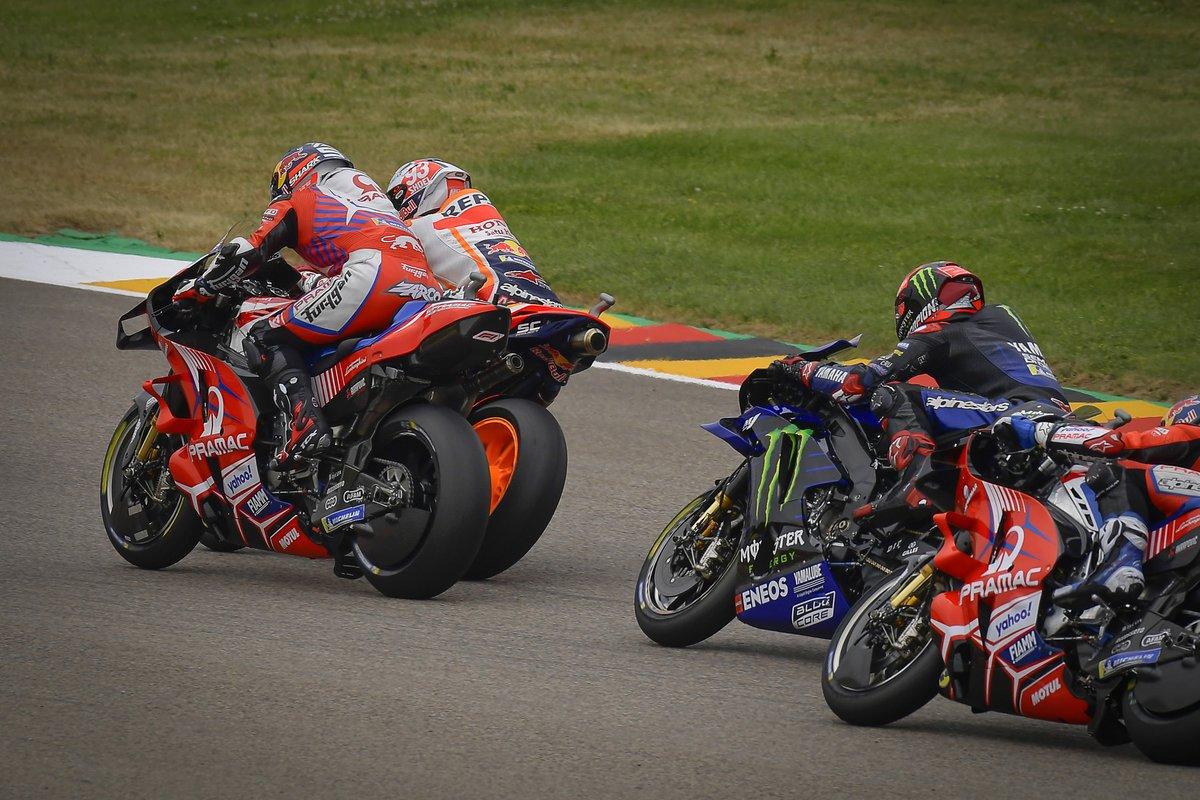 Johann Zarco, Pramac Racing, Marc Márquez, Repsol Honda Team, Fabio Quartararo, Yamaha Factory Racing