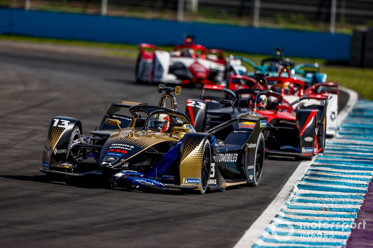 Antonio Felix da Costa, DS Techeetah, DS E-Tense FE21, Sebastien Buemi, Nissan e.Dams, Nissan IMO2