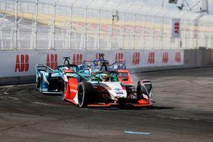 Lucas Di Grassi, Audi Sport ABT Schaeffler, Audi e-tron FE07, Oliver Turvey, NIO 333 001, Robin Frijns, Envision Virgin Racing, Audi e-tron FE07
