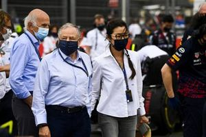 Jean Todt, President, FIA, and his wife Michelle Yeoh