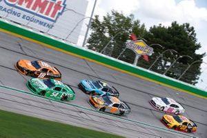 Daniel Hemric, Joe Gibbs Racing, Toyota Supra Poppy Bank, Kyle Busch, Joe Gibbs Racing, Toyota Supra Extra Gum