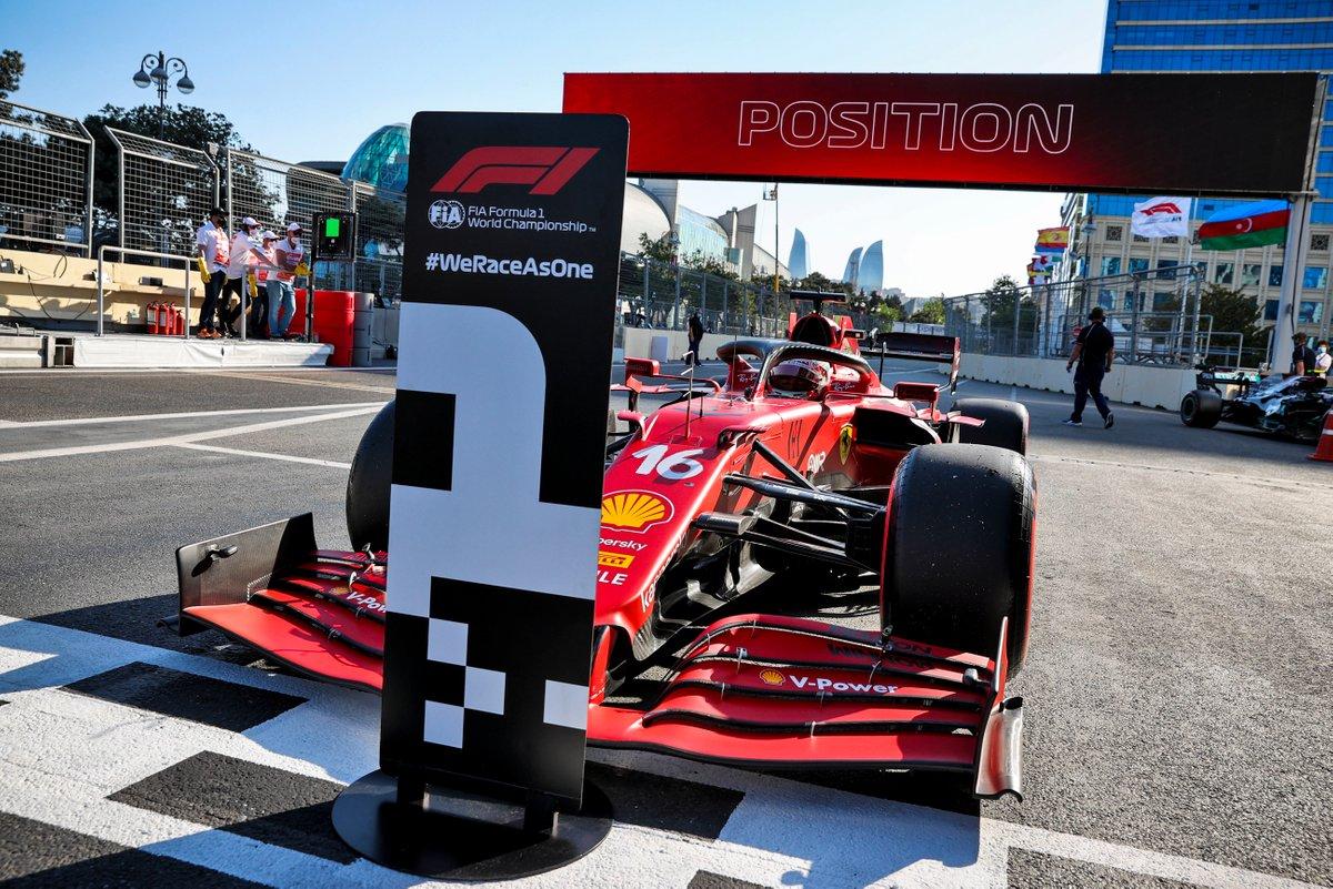 Ganador de la pole Charles Leclerc, Ferrari, Ferrari SF21