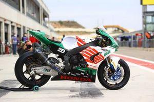 Bike of Leandro Mercado, MIE Racing Honda Team
