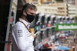 Джейс Эллисон, технический директор Mercedes AMG