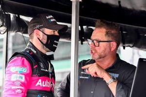 Jack Harvey, Meyer Shank Racing Honda, mit Michael Shank