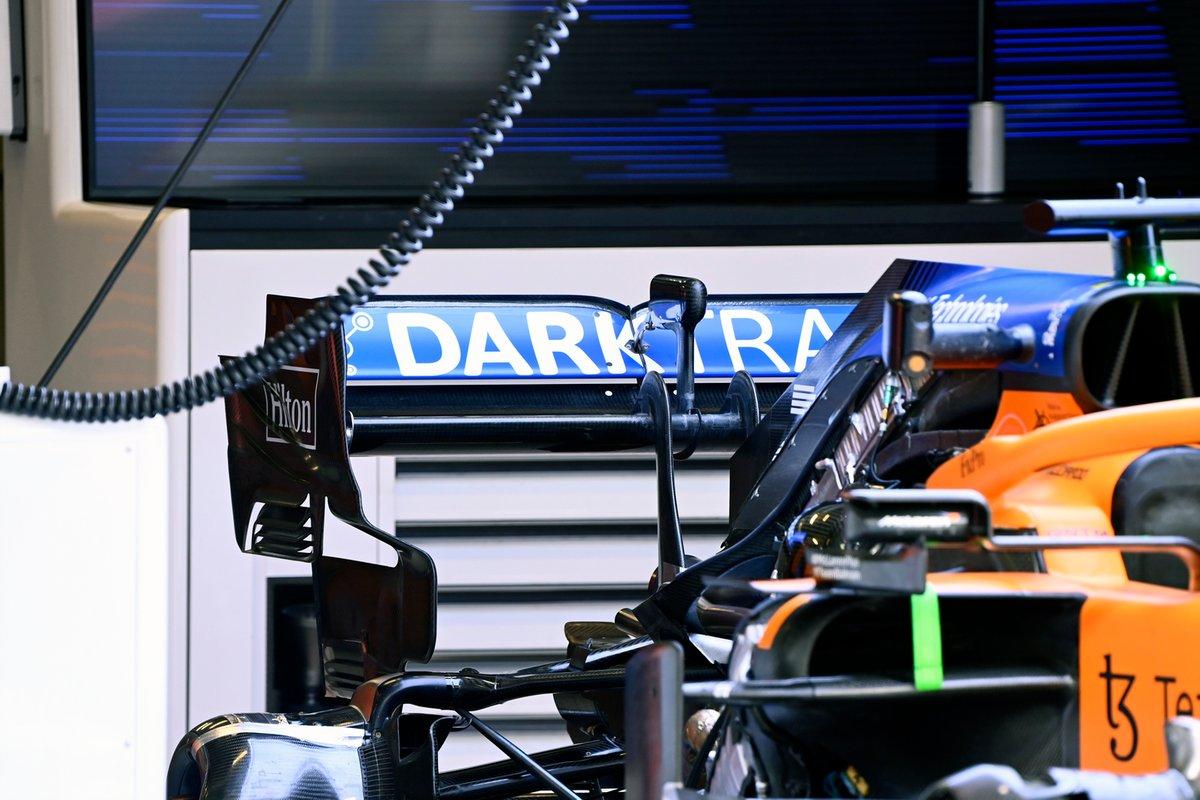 Detalle técnico del McLaren MCL35M