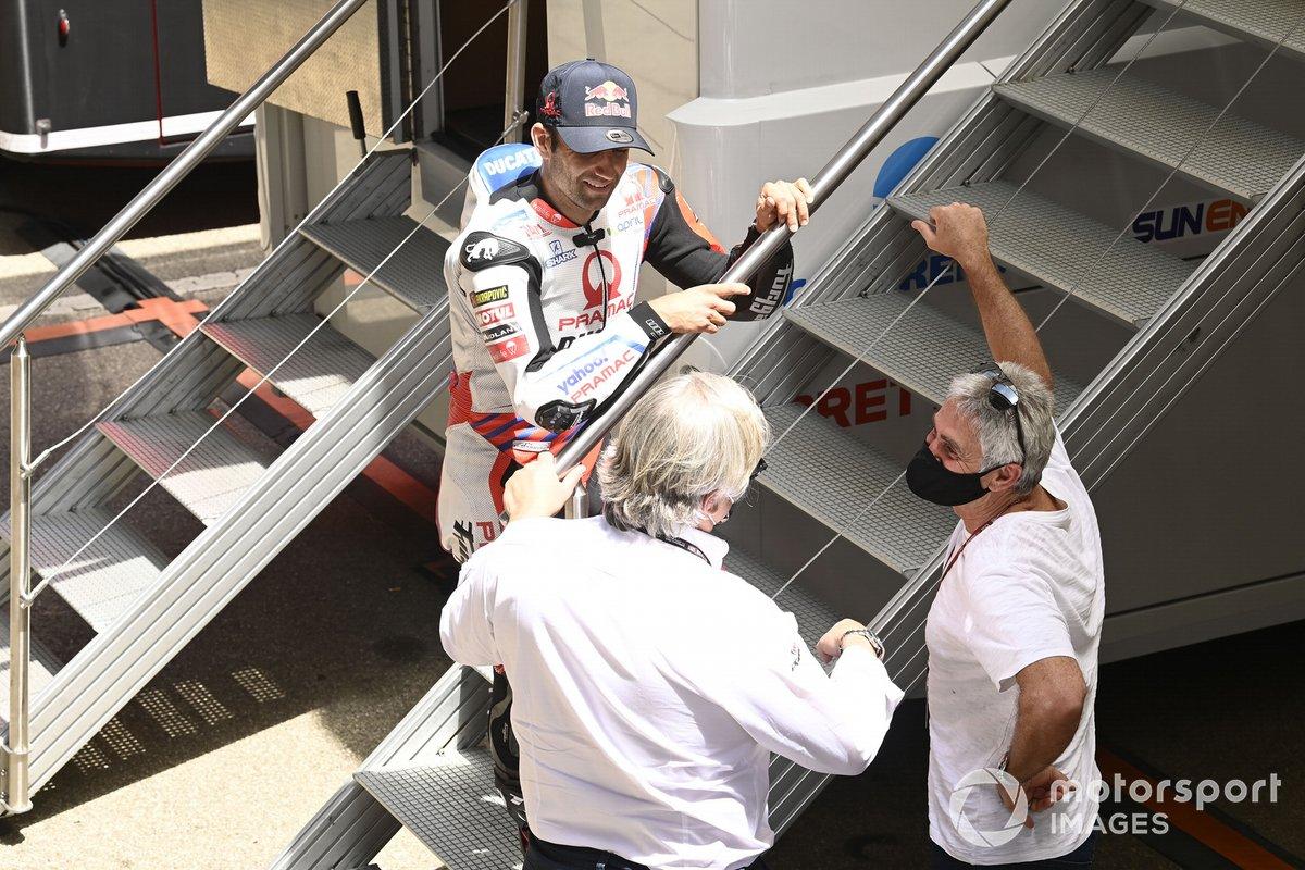 Mick Doohan, Johann Zarco, Pramac Racing
