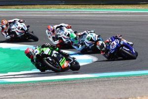 Lucas Mahias, Kawasaki Puccetti Racing, Garrett Gerloff, GRT Yamaha WorldSBK Team