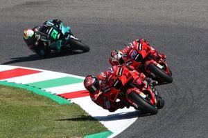 Francesco Bagnaia, Ducati Team, Jack Miller, Ducati Team, Franco Morbidelli, Petronas Yamaha SRT