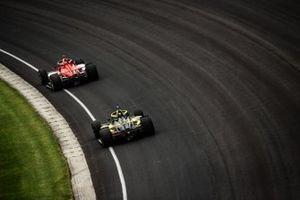 Marcus Ericsson, Chip Ganassi Racing Honda, Colton Herta, Andretti Autosport Honda