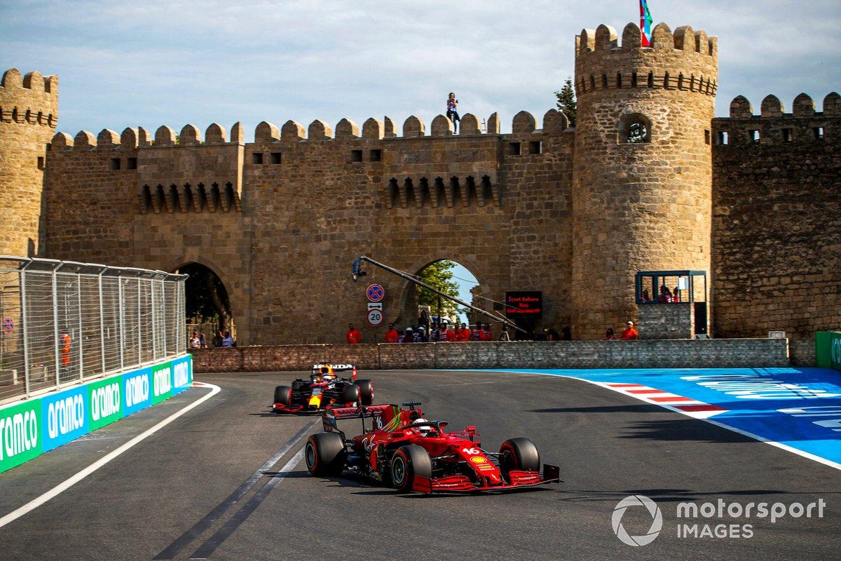 Charles Leclerc, Ferrari SF21, Max Verstappen, Red Bull Racing RB16B