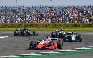 Robert Shwartzman, Prema Racing, Lirim Zendeli, MP Motorsport, Theo Pourchaire, ART Grand Prix e Guanyu Zhou, Uni-Virtuosi Racing