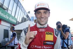 Pole position for Jamie Green, Audi Sport Team Rosberg, Audi RS 5 DTM