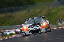 Frank Kraeling, Marc Gindorf, Christopher Brueck, Porsche 991 GT3 Cup MR