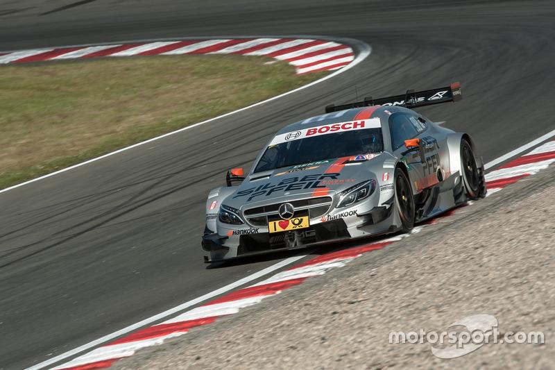 5. Robert Wickens, Mercedes-AMG Team HWA, Mercedes-AMG C63 DTM