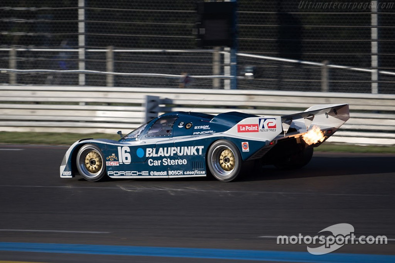 1986 Porsche 962: Zak Brown