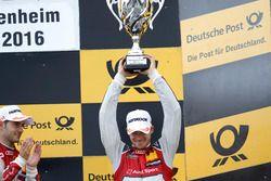 Podium: troisième place Edoardo Mortara, Audi Sport Team Abt Sportsline, Audi RS 5 DTM