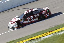 Crash: David Ragan, BK Racing, Toyota